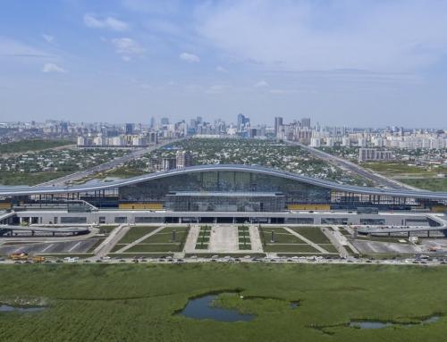 Astana Tren İstasyonu Nurly Zhol…